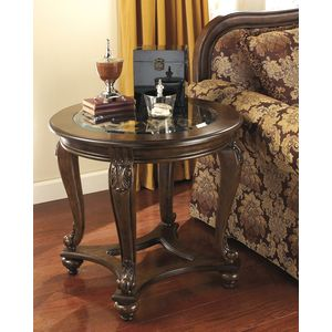 Norcastle Round End Table by Ashley Furniture