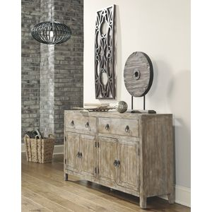 Rustic Accents Accent Cabinet by Ashley Furniture