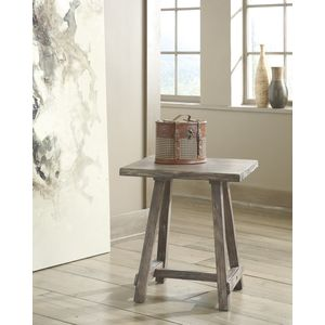 Rustic Accents Chair Side End Table by Ashley Furniture