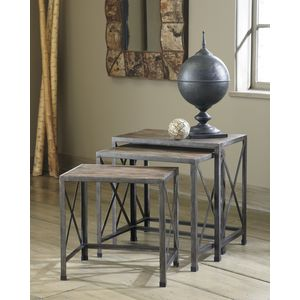Rustic Accents Nesting End Tables by Ashley Furniture