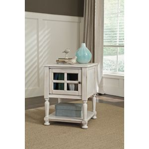 Cottage Accents Chair Side End Table by Ashley Furniture