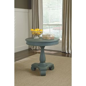 Cottage Accents Round Accent Table by Ashley Furniture