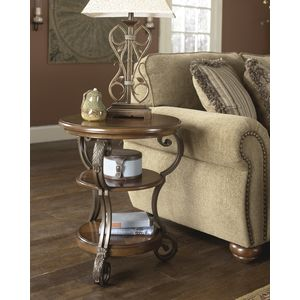 Nestor Chair Side End Table by Ashley Furniture