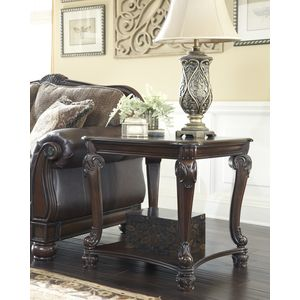 Norcastle Square End Table by Ashley Furniture