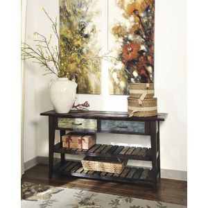 Mestler Sofa Table by Ashley Furniture