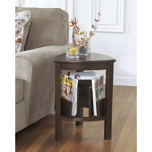 Larimer Triangle End Table by Ashley Furniture