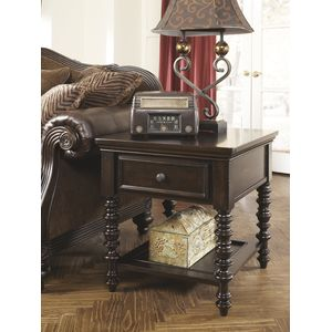 Key Town Ent Table by Ashley Furniture