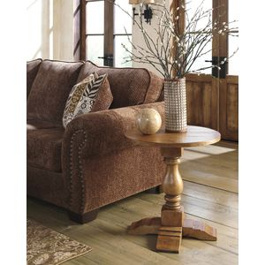 Shirwind Round End Table by Ashley Furniture
