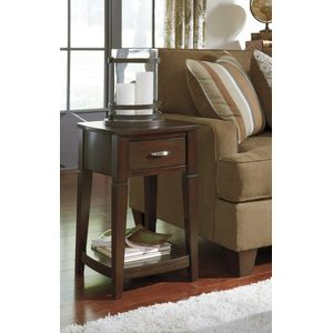 Dinelli Round End Table by Ashley Furniture