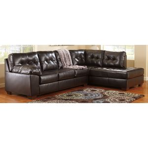 Wondrous Alliston Db Raf Chocolate Sectional Sofa By Ashley Furniture Caraccident5 Cool Chair Designs And Ideas Caraccident5Info
