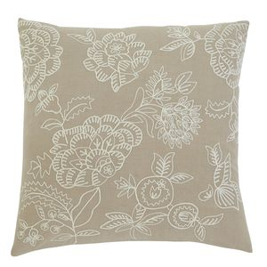 Embroidered Natural by Ashley Furniture