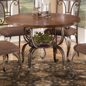 Hayley Rectangular Dining Room Table By Ashley Furniture