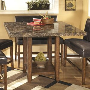 Signature Design By Ashley Ridgley Square Counter Height Table