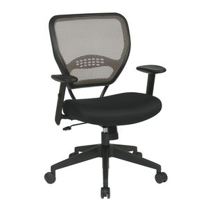 AVE SIX LUASA-V7 Lula Office Chair in Mauve Fabric with Rose Gold Base