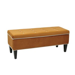 Magnificent Coventry Storage Bench By Osp Designs Office Star Theyellowbook Wood Chair Design Ideas Theyellowbookinfo