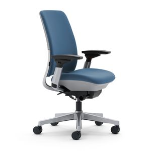 Amia Work Task Chair by Steelcase in Blue