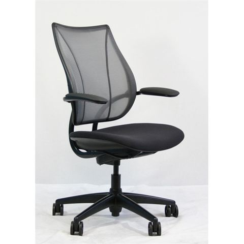 Liberty Office Task Chair by Humanscale  sc 1 st  Madison Seating & Liberty Office Task Chair by Humanscale - L115AM-BLK-BLK