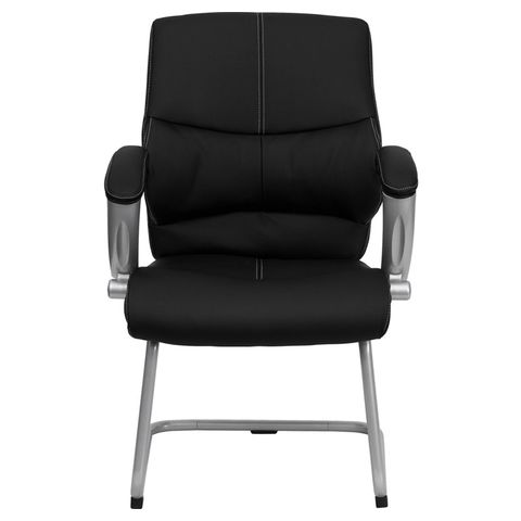 Black Leather Executive Side Chair by Flash Furniture