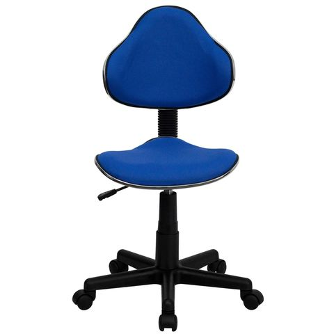 Blue Fabric Ergonomic Task Chair by Flash Furniture