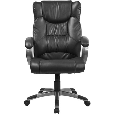 High Back Black Leather Executive Office Chair by Flash Furniture