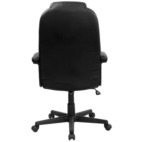 High Back Black Leather Executive Swivel Office Chair by Flash Furniture