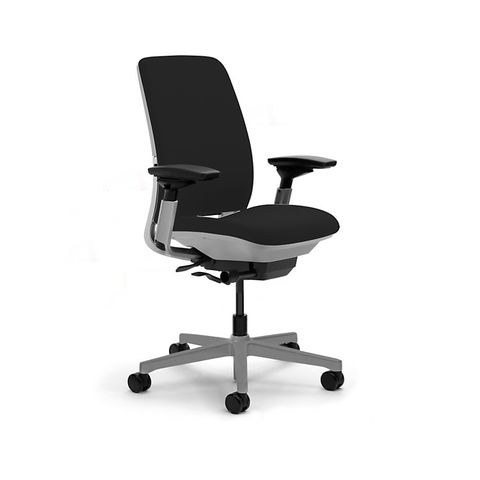 Amia Work Task Chair by Steelcase in Black