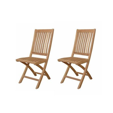 tropico folding chairs outdoor dining chair 2 pack atk chf 104