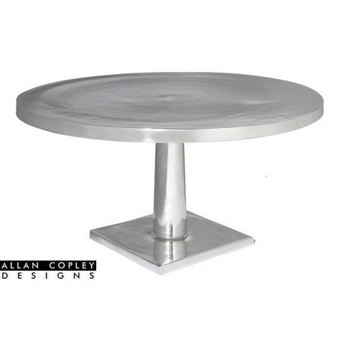 Surina Round Cocktail Table in Cast Aluminum by Allan Copley Designs
