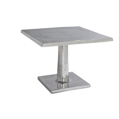 Surina Square Bunching Table in Cast Aluminum by Allan Copley Designs