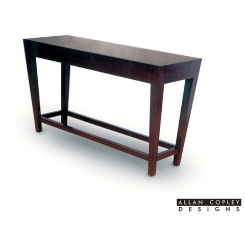 Marion Rectangular Console Table in Espresso Finish by Allan Copley Designs