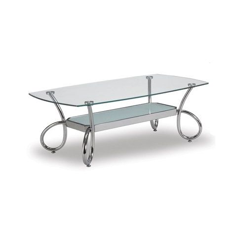 Coffee Table Silver by Global Furniture USA