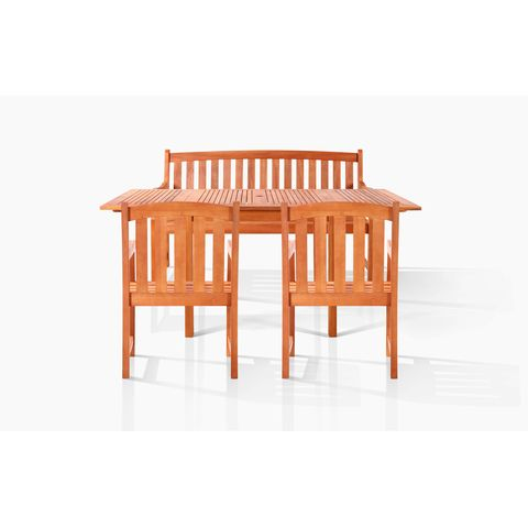 Pembroke Bench-Seater Dining Set by Vifah Wholesale