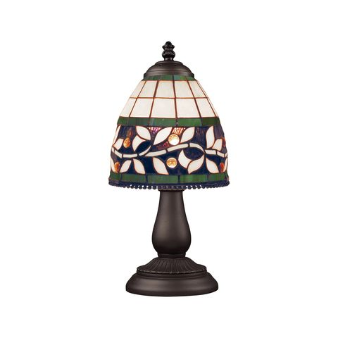 Mix And Match Section Tiffany Bronze Table Lamp by Elk Lighting