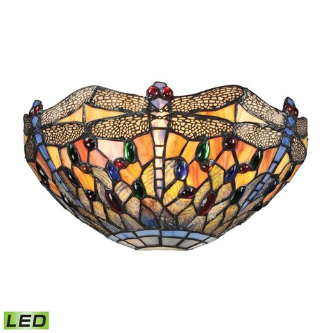 Dragonfly Collection 1 Light Sconce In Dark Bronze by Elk Lighting
