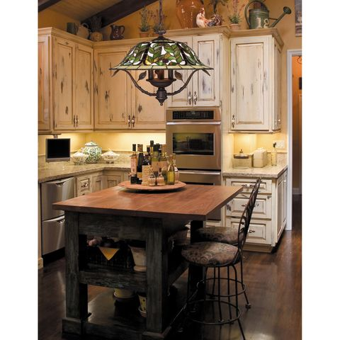 Latham 1-Light Pendant In Tiffany Bronze W/ Highlight by Elk Lighting