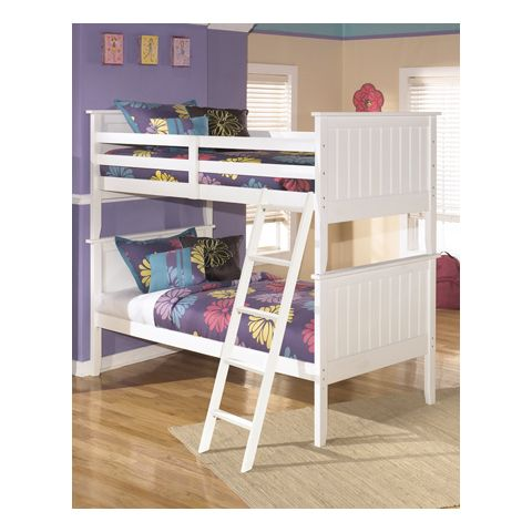 Signature Design By Ashley Lulu Twin Twin Bunk Bed B102 59p 59r 59s
