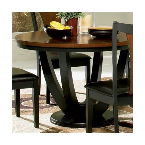 Boyer Round Dining Table By Coaster Fine Furniture